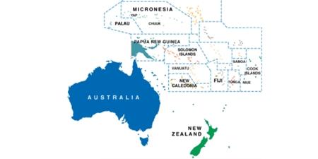 Australien-Karte